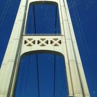 Photo taken at Mackinac Bridge by Sara J on 7/24/2012