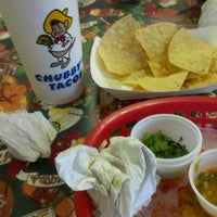Photo taken at Chubby's Tacos by Mike N. on 9/12/2012