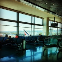 Photo taken at Gate A5 by Maxence D. on 4/22/2012