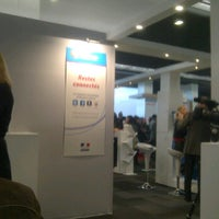 Photo taken at Salon des Entrepreneurs 2012 by Franck B. on 2/2/2012