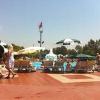 Photo taken at Turan Prince Aquapark by İlker K. on 6/23/2012
