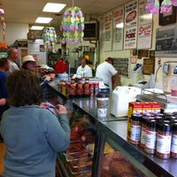 Photo taken at Hackenmueller's Meat Market by Steve W. on 3/31/2012