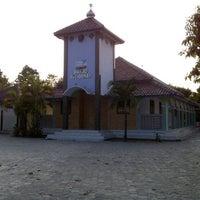 Photo taken at Masjid Al-Istiqomah, Desa Blubuk, Dukuhwaru, Slawi. by Masruly W. on 8/21/2012