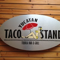 Photo taken at Yucatan Taco Stand by Nate L. on 5/12/2012