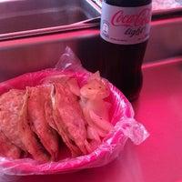 Photo taken at Tacos Barbacoa Prepa 5 by Martina P. on 8/2/2012