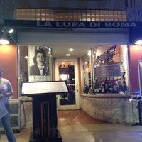 Photo taken at La Lupa Di Roma by Joey B. on 5/15/2012