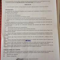 Photo taken at Ayuntamiento Azuqueca de Henares by Sandra Y. on 6/21/2012