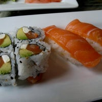 Photo taken at Pisces Sushi Bar & Lounge by Bill M. on 4/26/2012