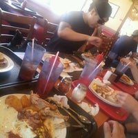 Photo taken at Shakey's Pizza Parlor by Raymond R. on 8/19/2012