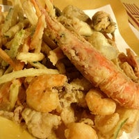 Photo taken at Kalamaro Fritto d'Osteria by Denis G. on 9/9/2012