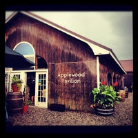 Photo taken at Applewood Orchards & Winery by Chris G. on 7/28/2012