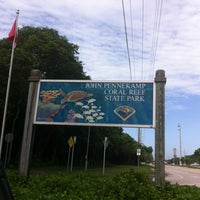 Photo taken at John Pennekamp Coral Reef State Park by Carmen L. on 7/23/2012