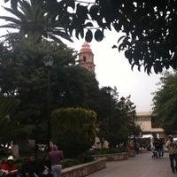 Photo taken at San Luis de la Paz by Tere M. on 5/10/2012