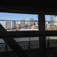 Photo taken at MTA Subway - Manhattan Bridge (B/D/N/Q) by Chris R. on 6/8/2012