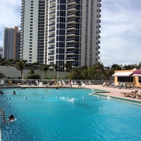 Photo taken at Ramada Plaza Marco Polo Beach Resort by Oswaldinho P. on 3/25/2012