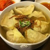 Photo taken at 자하손만두 by Aran Erin C. on 3/27/2012