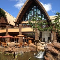 Photo taken at Aulani, A Disney Resort & Spa by Tracy W. on 2/25/2012