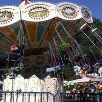 Photo taken at Victorian Gardens Amusement Park by Linda B. on 8/6/2012
