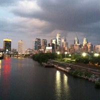 Photo taken at South Street Bridge by Melanie on 8/22/2012