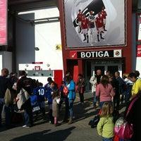 Photo taken at Nou Estadi by Albert M. on 12/10/2011
