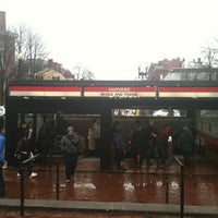 Photo taken at MBTA Harvard Station by Matthew H. on 3/3/2012