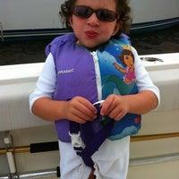 Photo taken at Graef Boat Yard Inc by Kristina R. on 7/26/2012