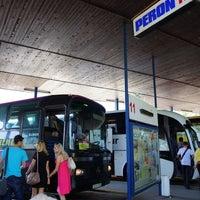 Photo taken at Autobusna stanica by Fumitaka. I. on 6/16/2012