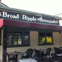 Photo taken at Broad Ripple Brew Pub by Nora S. on 7/17/2011
