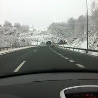 Photo taken at AP-66 Autopista de la Plata by Andres A. on 1/27/2012