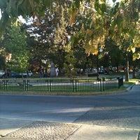 Photo taken at Plaza Dinamarca by Ricardo H. on 3/8/2012