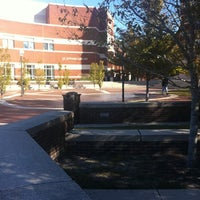Photo taken at Joyner Library by Elizabeth L. on 10/25/2011