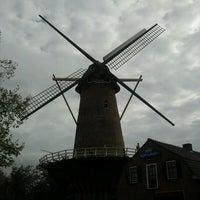 Photo taken at Molen De Volharding by Anke J. on 10/10/2011