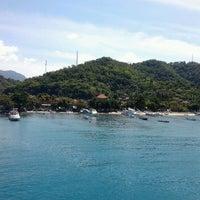 Photo taken at Pelabuhan Padang Bai by Aditya N. on 6/4/2012