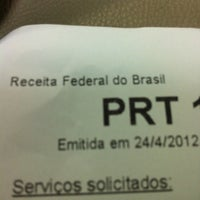 Photo taken at Agência da Receita Federal by Karla Rodrigues A. on 4/24/2012
