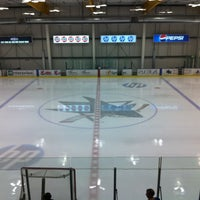 Photo taken at Sharks Ice at San Jose by Dave C. on 8/19/2012