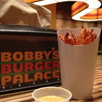 Photo taken at Bobby's Burger Palace by Lindsay R. on 1/5/2012