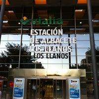 Photo taken at Albacete Railway Station - Los Llanos by Antonio S. on 9/14/2011