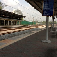 Photo taken at KTM Line - Subang Jaya Station (KD09) by James Y. on 6/14/2012
