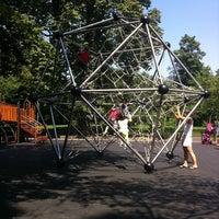 Photo taken at Vanderbilt Playground by Clive T. on 8/20/2011