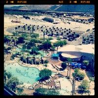 Photo taken at Morongo Casino Resort & Spa by Gisela N. on 8/7/2012
