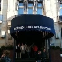 Снимок сделан в NH Collection Amsterdam Grand Hotel Krasnapolsky пользователем Jan V. 10/15/2011