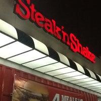 Photo taken at Steak 'n Shake by Sarah A. on 1/27/2012