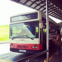 Photo taken at Woodlands Temporary Bus Interchange by Kennan d. on 8/20/2012