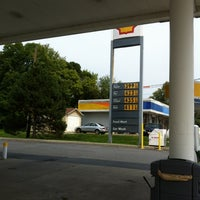 Photo taken at Shell by Tracey H. on 9/1/2012