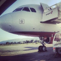 Photo taken at Zakynthos International Airport Dionysios Solomos (ZTH) by Moyko S. on 6/11/2012