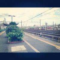 Photo taken at Oku Station by kusakabe on 6/10/2012