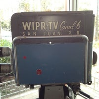 Photo taken at WIPR-TV Canal 6 by Angel V. on 3/9/2012