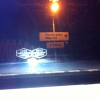 Photo taken at Flint Railway Station (FLN) by Han P. on 11/12/2011