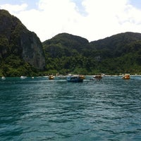 Photo taken at Phi Phi Sand Sea View Resort by Ludwig V. on 9/4/2012