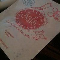 Photo taken at Sal's Italian Restaurante by Jennifer C. on 12/29/2010